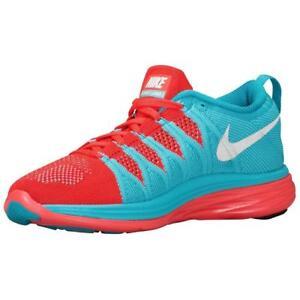 meet 3d78a 53d19 Image is loading Nike-Flyknit-Lunar2-Women-039-s-Running-Cross-