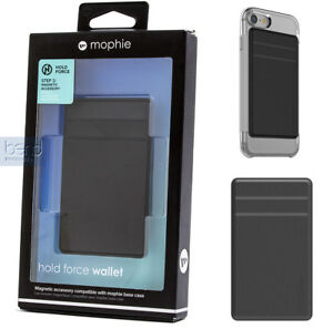 reputable site ce1b1 93871 Details about mophie Magnetic Hold force wallet for use with Base Case for  Apple iPhone Black