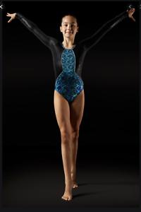 Leo-Leos-Dancewear-Aztec-print-Leotard-Retail-65-NWT