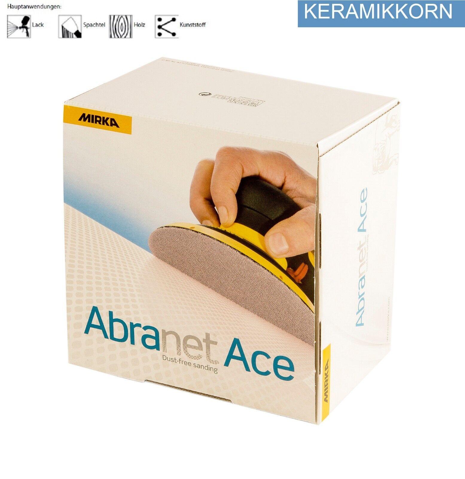 Mirka Abranet ACE Schleifscheiben Netzgitter Netzgitter Netzgitter Größen 77,125,150 mm wählbar 0495a1