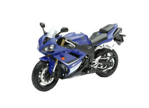 2016 yamaha yzf r1 1 12 sport bike motorcycle blue toy model by new
