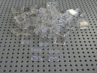 Lego Train City Lot of 50  New 1 x 2 x 2  Clear windows