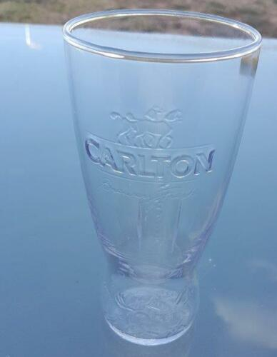 Carlton Draught Exclusive Beer Glasses, Hotel grade Schooner NEW, 1 Single