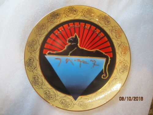"Grateful Dead ""Cats Under The Stars"" Collector Plate Stanley Mouse"