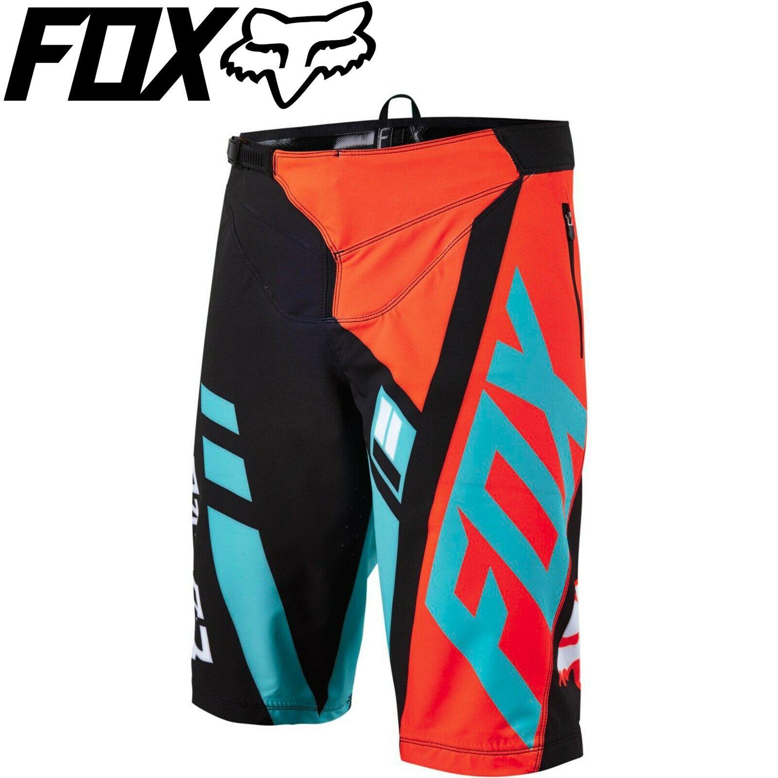 Fox Flexair Divizion Dh Shorts  Aquaarancia  Dimensione 34