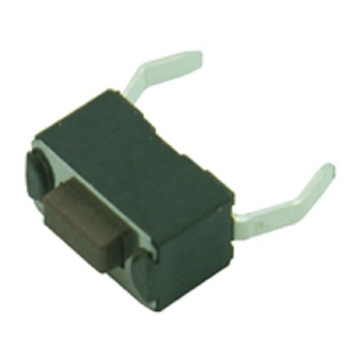 Switches Miniature Rectangular Tactile N.O SPST PCB Mount Push Pack of 5