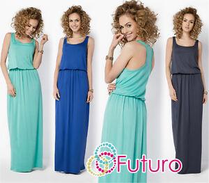 Womens-Summer-Vest-Tank-Maxi-Dress-Sleeveless-Long-Sundress-Plus-Sizes-8-18-FM21