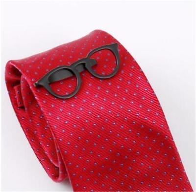 RED SPECTACLES W2322...TIE CLIP GIFT BAG FREE UK P/&P