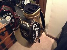 RARE Callaway Staff Bag - made to celebrate Arnold Palmer 50th at he Masters