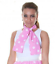 Ladies Pink Glasses Scarf Set Grease 50/'s Fancy Dress Hen Nights Party 1950/'s