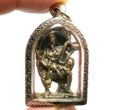 KALI Deity Hindu Goddess Amulet Pendant Life Protect Wealth Success Talisman FS