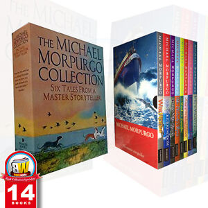Michael-Morpurgo-Box-Set-Children-14-Books-Gift-Set-War-Horse-Long-Way-Home-PB