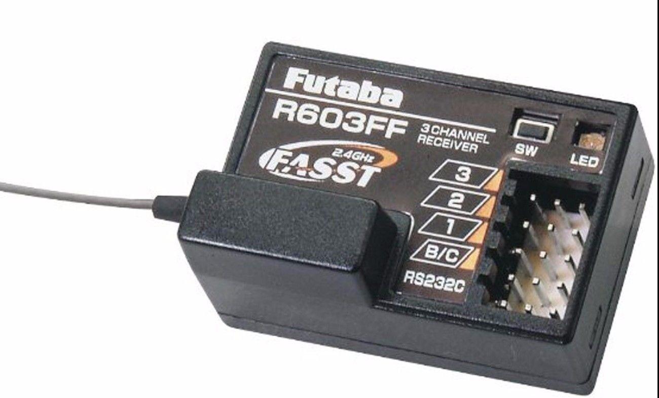 Futaba  R603ff 2.4ghz Veloce 3ch Rx 3vcs 3gr 3pks 4pks Futl7631  vendita con alto sconto