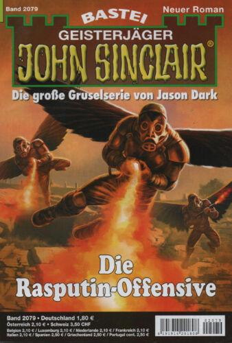 NEU JOHN SINCLAIR Nr Die Rasputin-Offensive 2079 Ian Rolf Hill