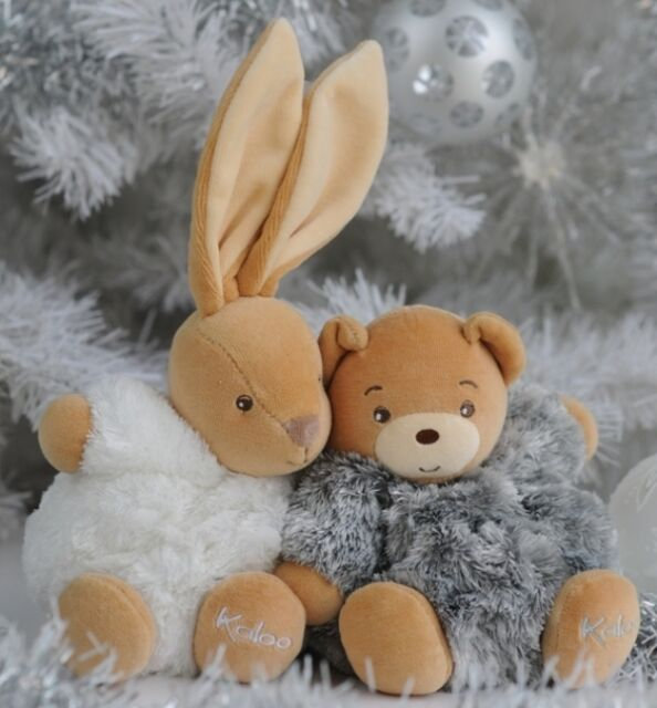 KALOO FUR Mini Rabbit Soft Toy Comforter New Unboxed