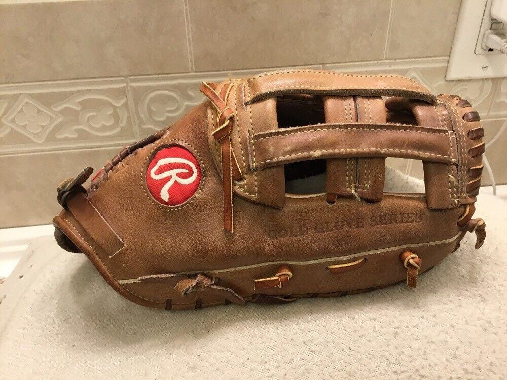 "Rawlings USA PRO-FB 13"" HOH Baseball Softball First Base Mitt Right Hand Throw"