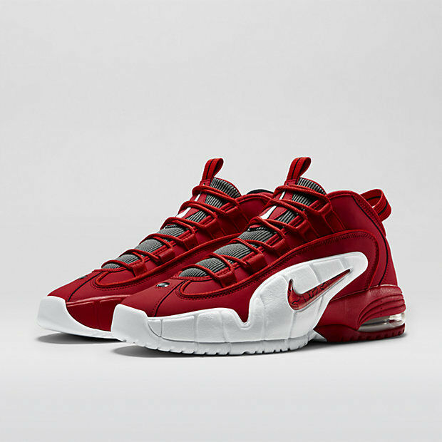 big sale 1f954 202e3 Nike Air Max Penny 1 Retro University Red Size 8 685153-600 DS for sale  online   eBay