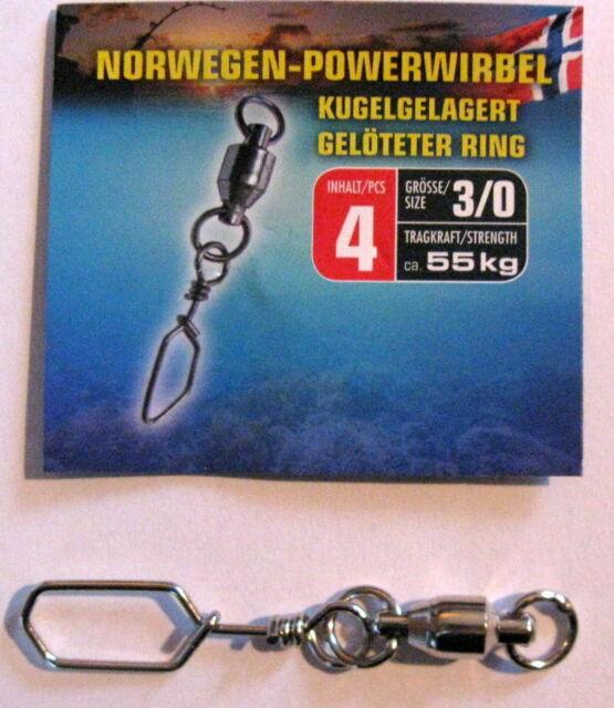 Behr Kugellager Wirbel mit gelötetem Ring 6 Größen zur Auswahl Norwegen