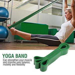 7f4d5349c6 Image is loading Resistance-Elastic-Band-Exercise-Yoga-Gym-Belt-Rubber-