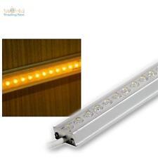 (49,96€/m) LED Aluminium Lichtleiste 25cm GELB IP65 12V