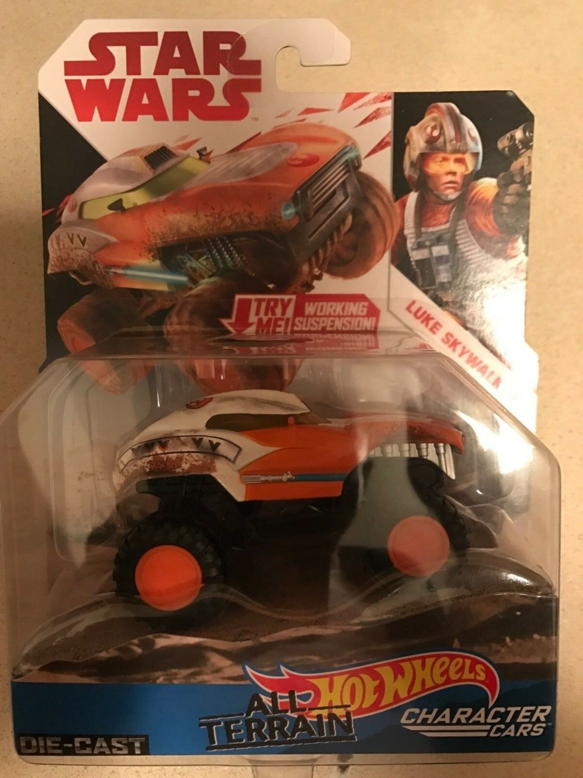 Toy  THE STAR WARS ALL TERRAIN. FREE SHIPPING TODAY Hot Wheels
