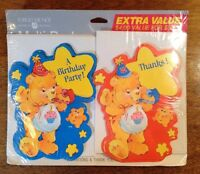 Vintage Care Bear Birthday Party & Thank You Cards, American Greetings