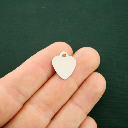 Quantity Options BFS1828 Love Inspire Teach Stainless Steel Charms Smaller