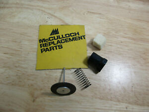 NEW McCulloch Chainsaw Gas /& Oil Caps 10-10 700 805 850 8200 SP 80 81 70 60
