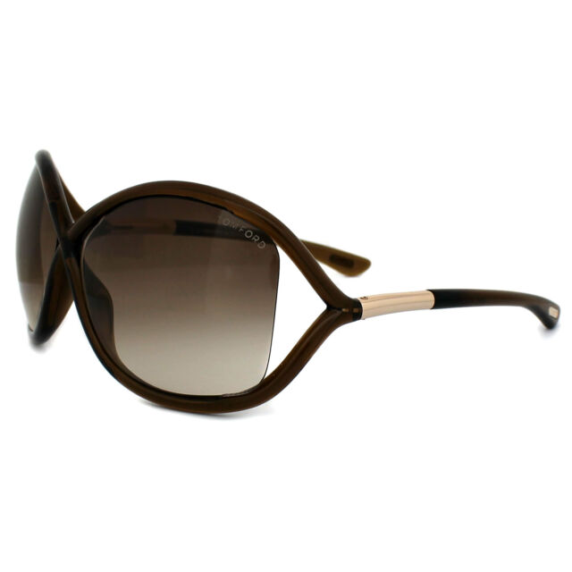 bf40f63737 Tom Ford Sunglasses 0009 Whitney 692 Crystal Brown Brown Gradient
