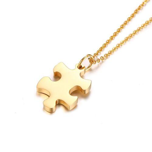 Puzzle Jigsaw Pendentifs Femmes Collier Pièce Best Friends Forever Sister Personnalisé Bijoux Cadeau