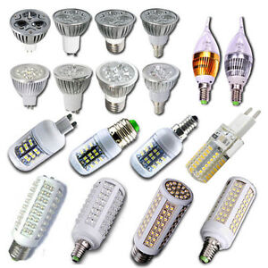 10X-20X-3W-4W-5W-HIGH-POWER-Mr16-GU10-E14-E27-LED-Strahler-Spot-Lampe-Leuchte