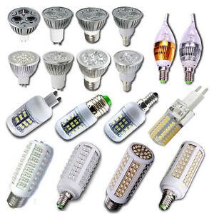 10X-20X-3W-4W-5W-HIGH-POWER-Mr16-GU10-E14-E27-LED-Strahler-Spot-Lampe-Leuchte