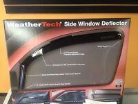 Chevy Silverado 1500 Weathertech Rain Guards Crew Cab 2014-2017 Front & Rears