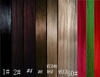 """CLIP IN REMY HUMAN HAIR EXTENSIONS *10pc Full Head Set! 20""""125g"""