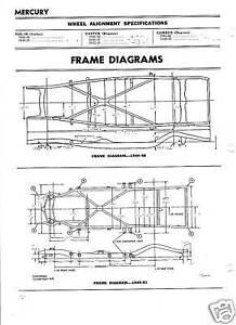 1941 42 46 47 48 49 50 51 Mercury Nos Frame Dimensions Ebay