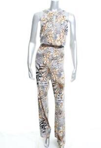 15d253c2742 New Women s Thalia Sodi Belted Wide-Leg Jumpsuit Deep Black Combo ...