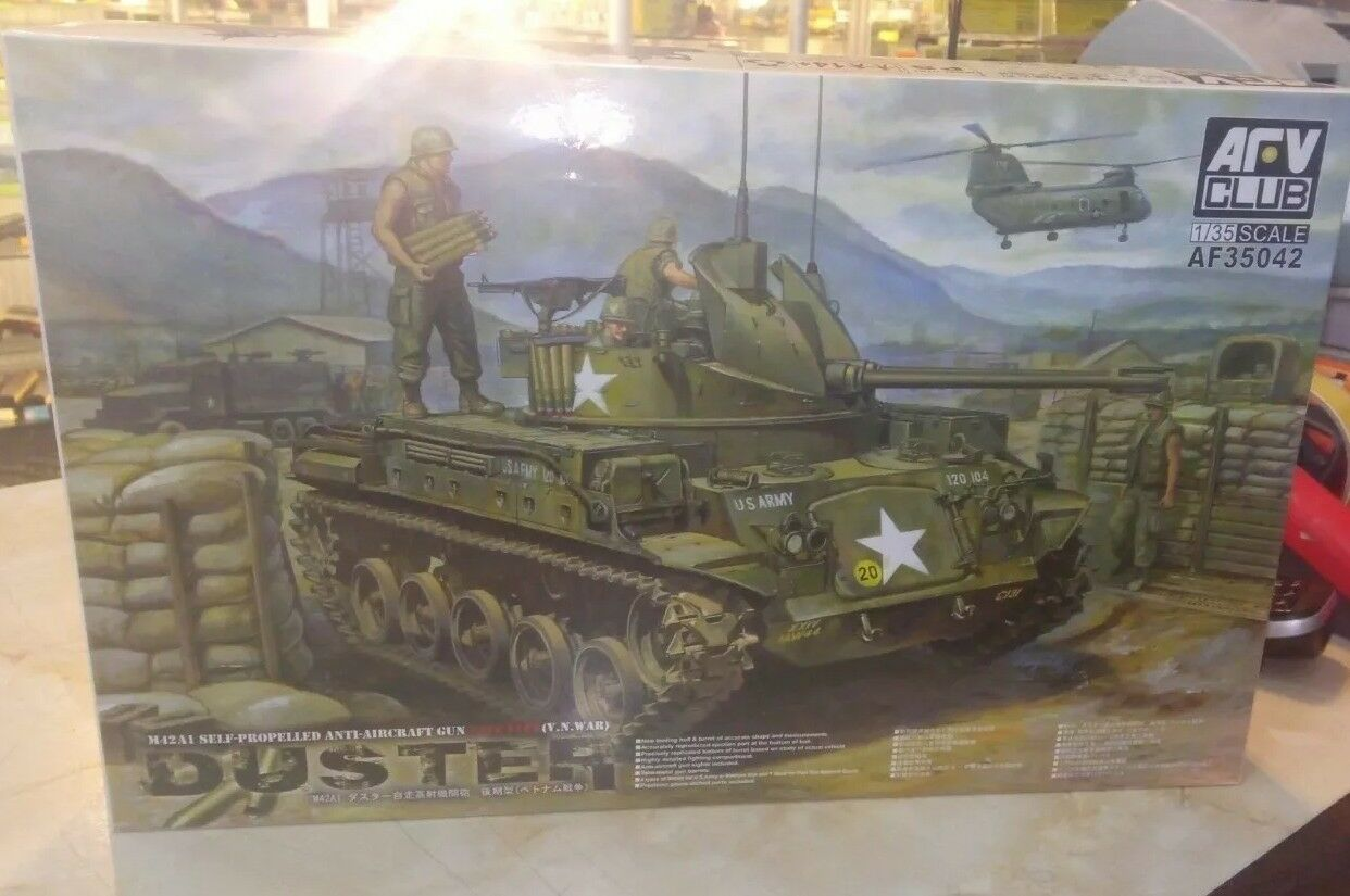 AFV Club 35042,  1 35  M42 Duster Military Model Kit, NEW
