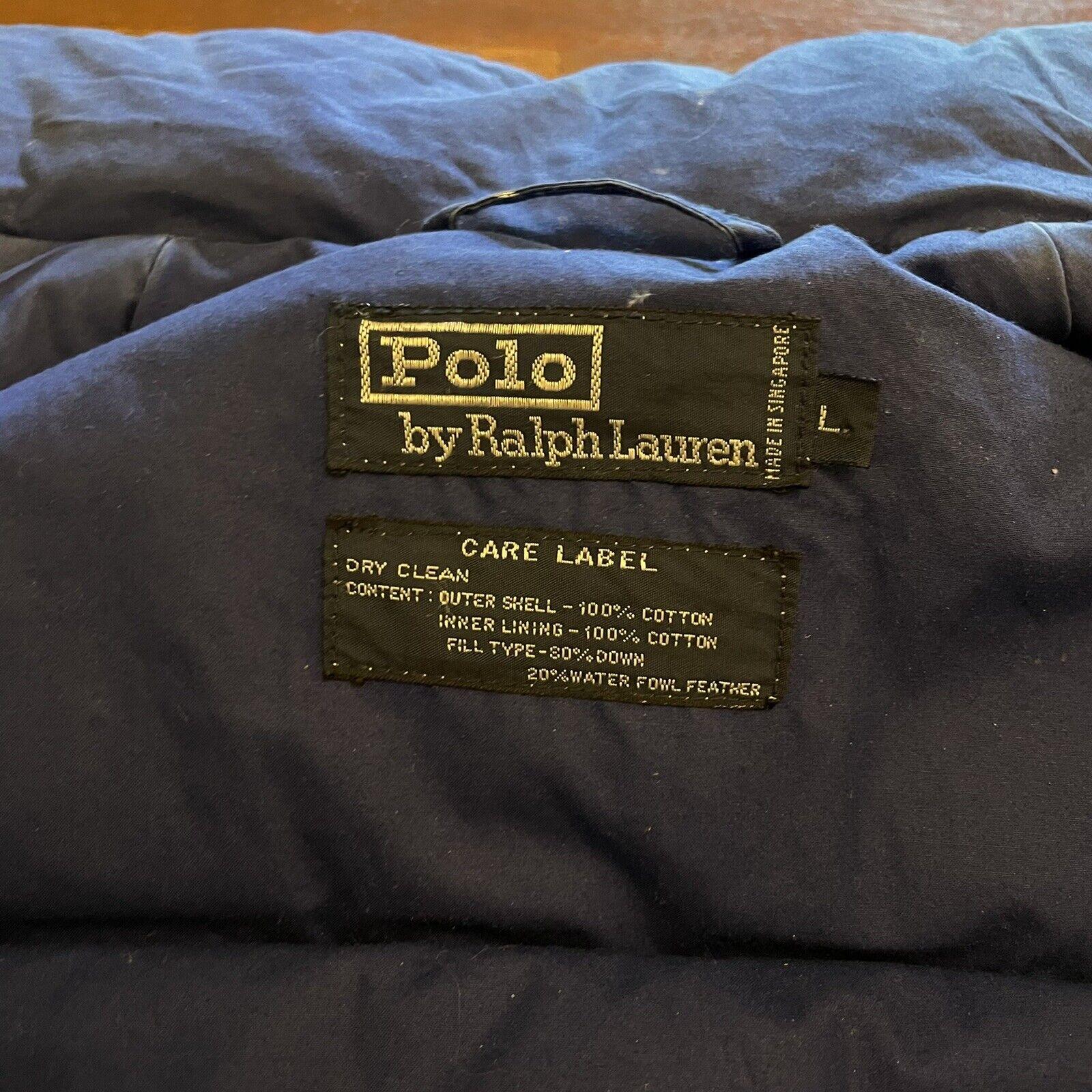 VTG Ralph Lauren Polo Uni Jacket Unicrest Down Pu… - image 5