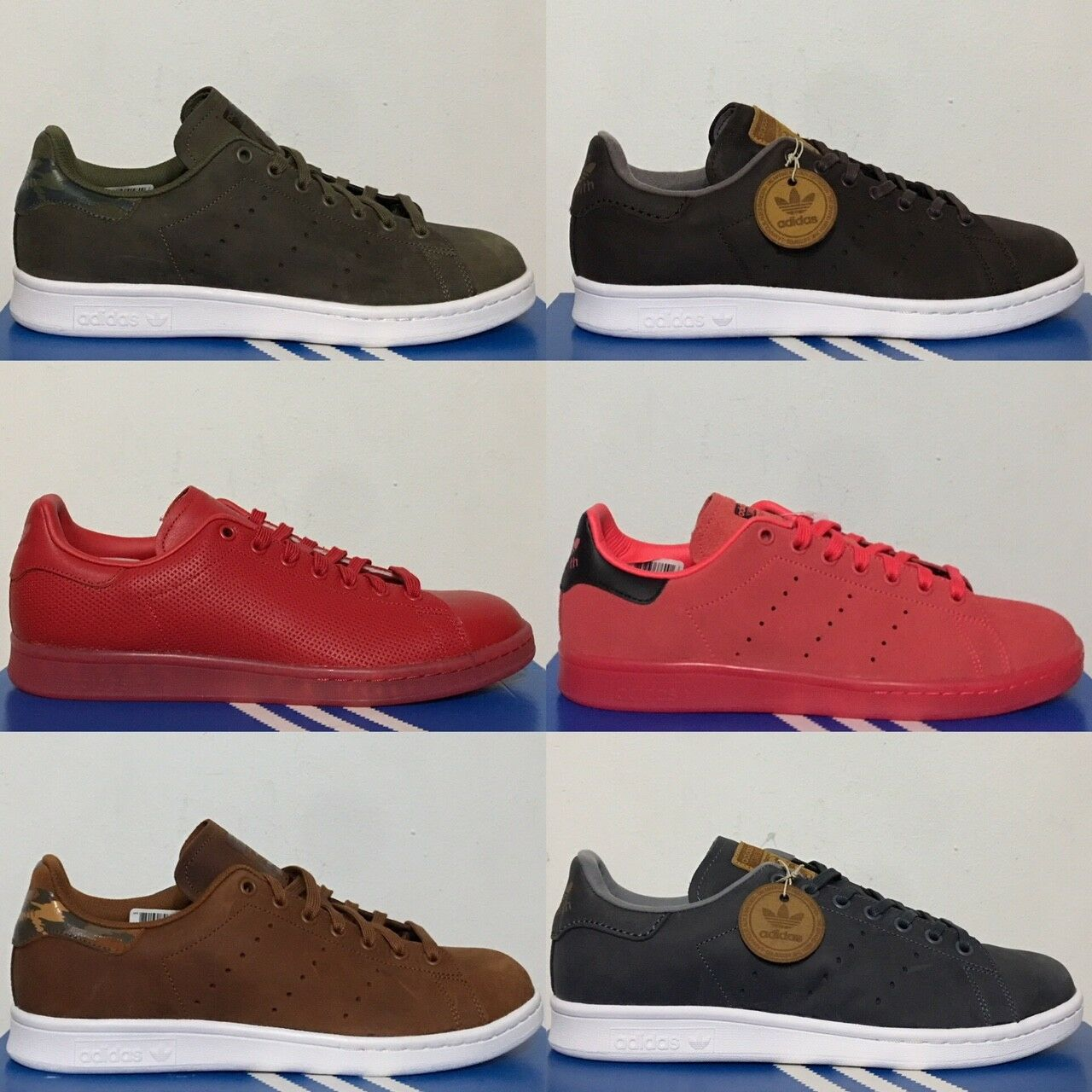 Adidas Originals Stan Smith Retro Casual Shoes