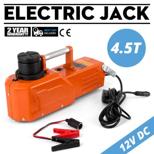 12V Hydraulic Floor Jack Electric Car Lift 9900lbs Adjustable Auto Sedan Jack