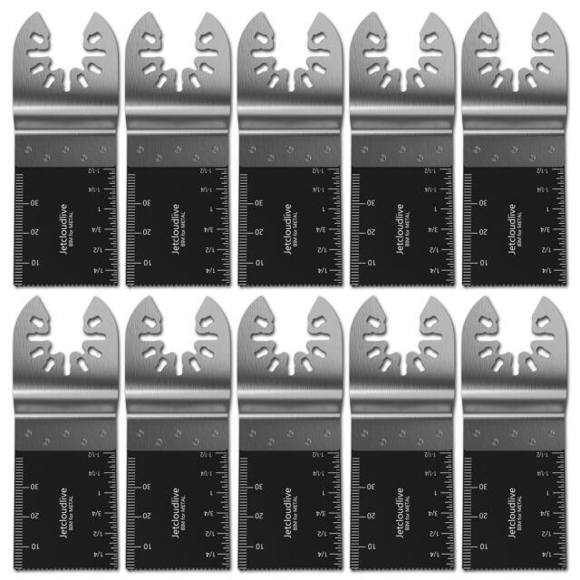 20X Bi-Metal Oscillating Multi-Tool Saw Blades Carbon Steel Cutter DIY Universal