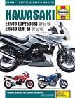 Kawasaki EX500 (GPZ500s) & ER500 (ER-5) Motorcycle Service and Repair Manual by Editors of Haynes Manuals (Paperback, 2015)