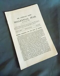 Millenial Star July 28, 1910 LDS Mormon News Pamphlet Booklet