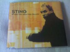 STING - AFTER THE RAIN HAS FALLEN - UK CD SINGLE