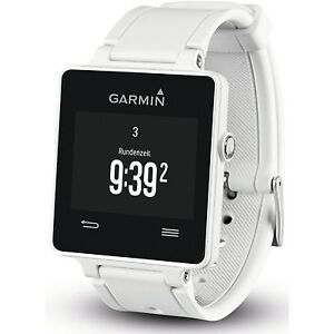 Garmin VivoActive GPS Enabled Active Fitness iPhone Android Smartwatch White