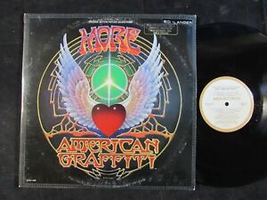 MORE-AMERICAN-GRAFFITI-original-soundtrack-LP-PROMO-Byrds-Zombies-Bob-Dylan-EX