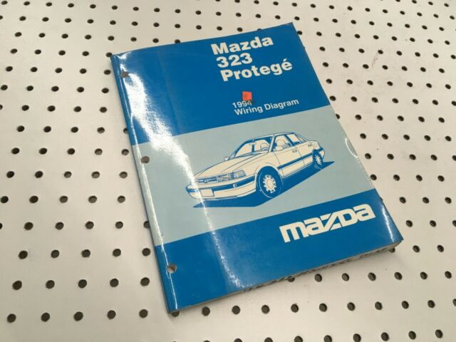 1994 Mazda 323 Protege Factory Oem Wiring Diagram Manual