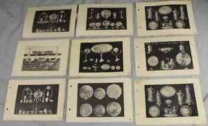9-Tafeln-mit-Abbildungen-von-ZINN-Objekten-Nachlass-Sturm-wohl-um-1900-S275