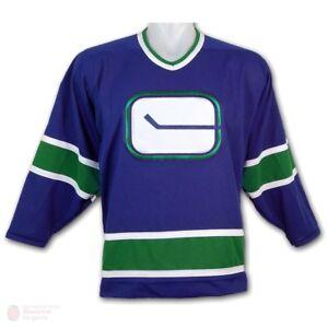 1d503c6cc CCM 550 NHL VANCOUVER CANUCKS Hockey Stick Logo Vintage 1972 JERSEY ...
