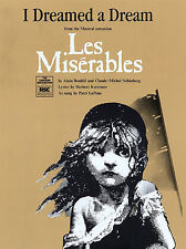 I Dreamed A Dream Les Miserables Learn PIANO GUITAR PVG SHEET Music Book